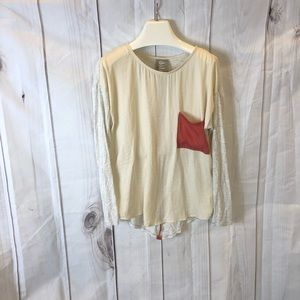 Dolan Left Coast Color Block Tunic XS